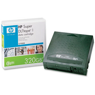 Hp Dlt Ultrium C7980A 320Gb Blank Data Tape Ultra Reliable & Secure - Brand New