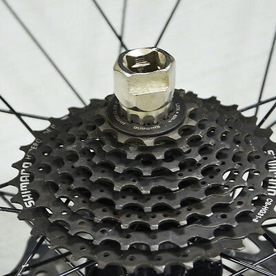 Bike Tool Bicycle Flywheel Cassette Remover Crank Extractor Clamping Sleeve New