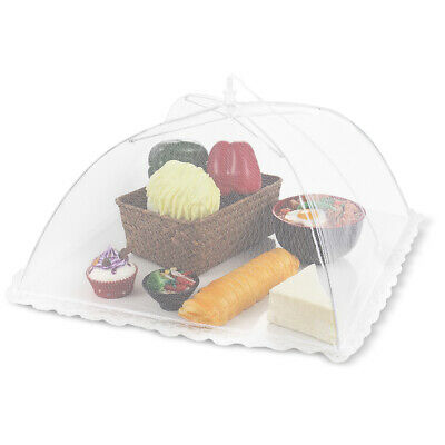Food Cover Tent Pop Up Mesh Screen Net Umbrella Covers Keep Out Flies, Bugs