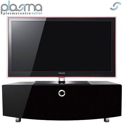 "MDA Designs Curve 1000 TV Stand for up to 50"" TVs - Black"