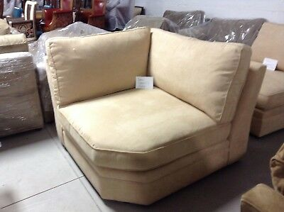 Tremendous Pottery Barn Pearce Couch Sofa Sectional Armless Chair Camel Spiritservingveterans Wood Chair Design Ideas Spiritservingveteransorg