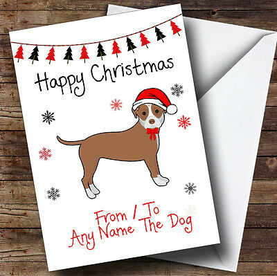 Cat And Dog Personalised Christmas Cardwe Print All Of Our Cards Onto Premium 350gsm Quality Card Stock Whizz Them Off To You Within