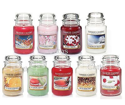 Yankee Candle Festive Christmas Large Jars Including New for 2016