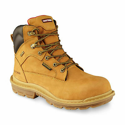 Mens Dickies Dealer Safety Steel Toe Cap Leather Chelsea Work Boots Shoes Size