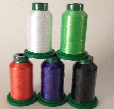 5 pack of Isacord Thread Halloween kit -( New in wrapper)