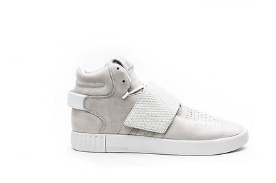 cheap for discount 7e648 75624 Adidas Tubular Invader Strap Mens Basketball Shoes Size  10.5 White Bb5038
