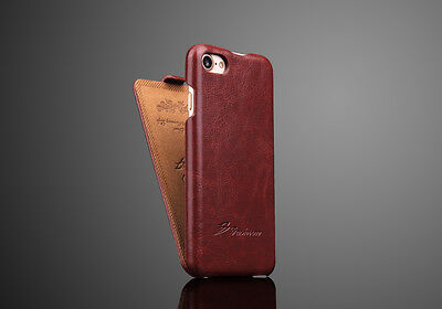 Authentic Fashion Brand Apple Iphone 7 8 Leather Flip Cover Case 360° Protection