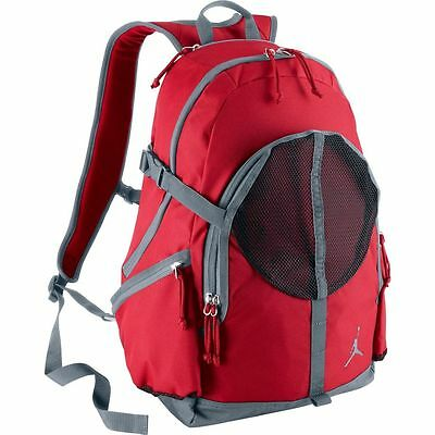 06ee803faed4 Nike Air Jordan Jumpman Backpack Red Grey Black O S 612842-695