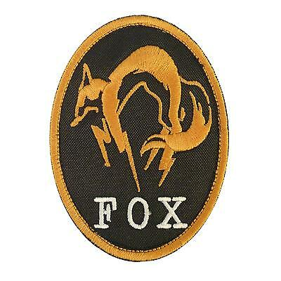 Metal Gear Solid Fox Hound Xbox cosplay PS PS3 embroidered fastener patch