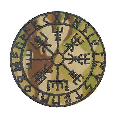 vegvisir viking compass multicam scorpion OCP embroidered hook&loop patch