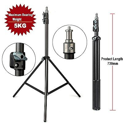 2m/6ft. Light Stand With 1/4 Screw Head Load 5KG For Lighting Studio Softbox