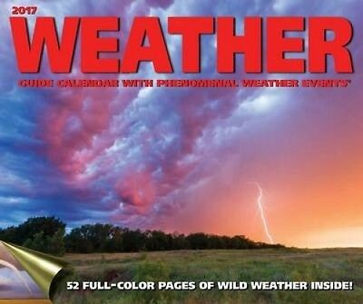 Weather Guide 2017 Wall Calendar by Accord Publishing