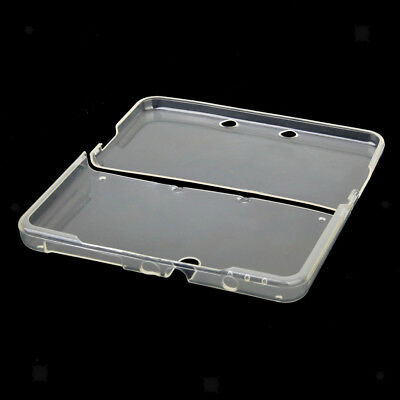 For New Nintendo 3DS Clear White Soft TPU Protector Case Skin Guard Cover
