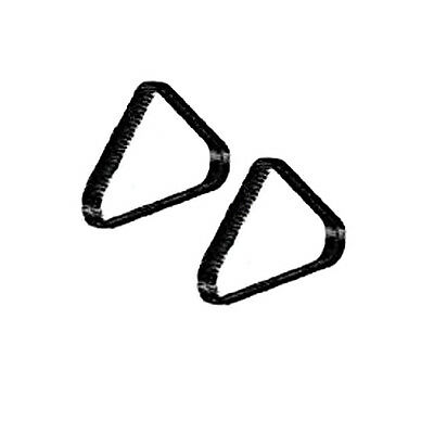 Zodiac CX20 / CX35 Tyres (pair of 2) - Pool Cleaner Spare Part