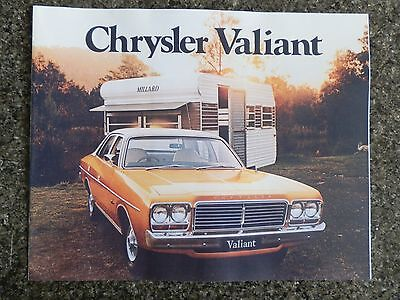 Chrysler Valiant 1977 Cl Sales Brochure. 100% Guarantee.