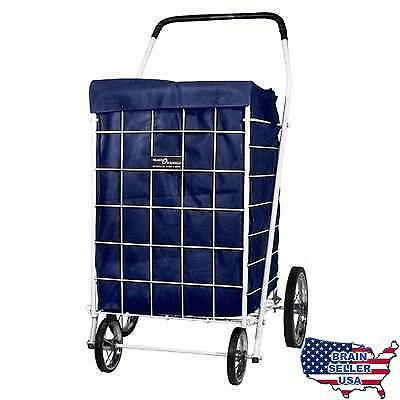 SHOPPING CART LINER - BRAND NEW - GROCERY - BLUE, No Tax, Free Ship