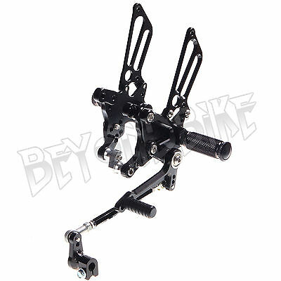 Adjustable Rear Sets Rearsets Footpegs 4 RSV 1000 R / FACTORY 04 05 06 07 08 New