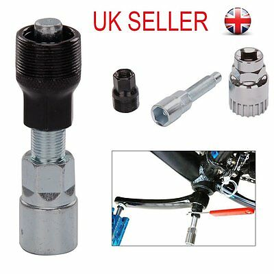 Bicycle Bike Cycle Crank Wheel Puller Remover Repair Extractor Mountain Tool UK