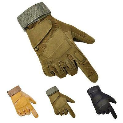 Cool Outdoor Sports Fingerless Gloves Military Tactical Hunting Riding Gloves