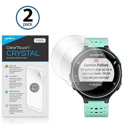 Garmin Forerunner 235 Screen Protector, BoxWave® [ClearTouch Crystal (2-Pack)]
