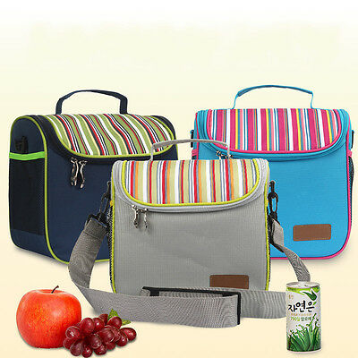 Portable Insulated Thermal Cooler Bag Camping Picnic Lunch Food Storage Cool Box