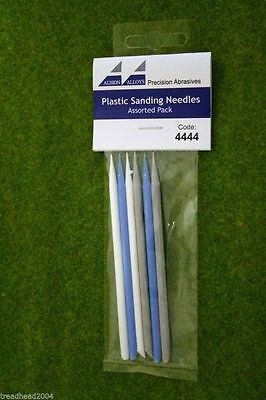 Albion Alloys PLASTIC SANDING NEEDLES ASSORTED grit #4444