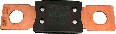 MEGA FUSE 125AMP BOLT DOWN M8 GREEN COPPER ENDS 12V 24V 32v CARGO 192050