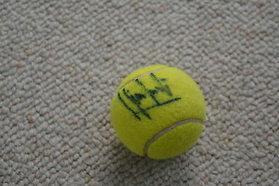 HENRI LECONTE signed Autogramm In Person BALL TENNISBALL TENNIS rar!!