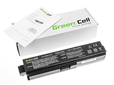 Green Cell® Notebook Battery for Toshiba Satellite L750-1E8 Laptop (8800mAh)