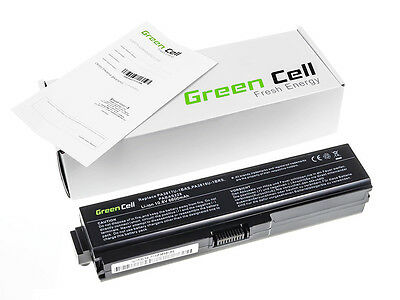 Green Cell® Notebook Battery for Toshiba Satellite L750-1E8 Laptop (6600mAh)