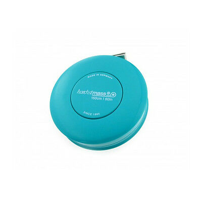 Hoechstmass Pocket Roller Tape Measure ROLLFIX 150 cm/60 inch, turquoise colour