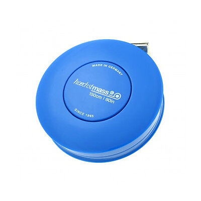 Hoechstmass Pocket Roller Tape Measure ROLLFIX 150 cm/60 inches, Blue colour