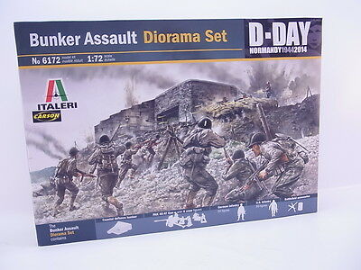 LOT 39021 | Italeri 6172 Bunker Assault Diorama Set 1:72 Bausatz NEU in OVP
