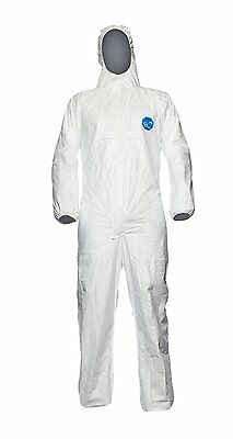 Tyvek CHF5 Classic Xpert Type 5 & 6 Protective Hooded Coverall Various Sizes