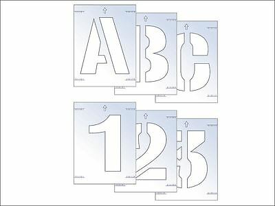 Scan - Letter & Number Stencil Kit 100mm
