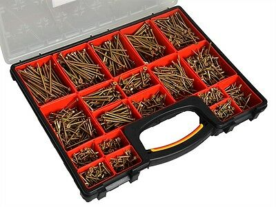 Forgefix Multi-Purpose Screw Assortment in Organiser 1500 Piece XMS16FORGE