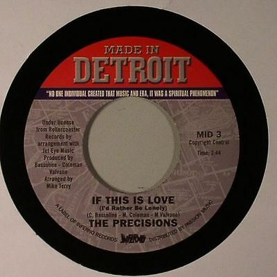 """PRECISIONS, The - If This Is Love - Vinyl (1-sided etched 7"""")"""