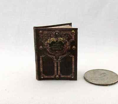THE ANCIENT CHRONICLES OF MOONACRE VALLEY Miniature Book Dollhouse 1:12 Scale
