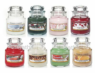 Yankee Candle Festive Christmas Small Jars Including New for 2016