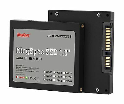 128GB KingSpec 1.8-inch SATA III 6Gbps SSD Solid State Disk (JMicron JMF608)
