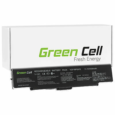 Green Cell® Notebook Battery for SONY VAIO VGN-NR11Z/S Laptop (4400mAh)