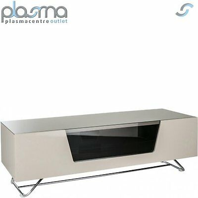 """Alphason Chromium Ivory TV Stand for up to 60"""" TVs"""