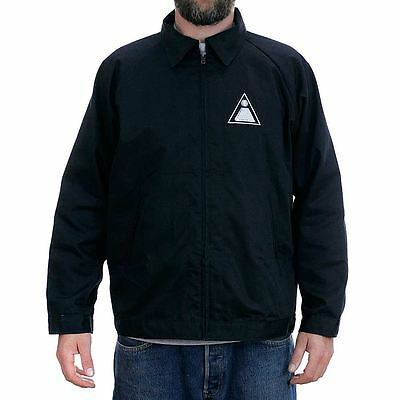 Theories Of Atlantis Theoramid Transit Jacket Black Coat Rare New Free Delivery