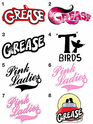 Grease Stickers, Wall Decoration, DIY Arts & Crafts