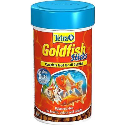 Tetra Goldfish Sticks Complete Fish Food for Coldwater Fish 34g