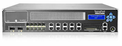 HP TippingPoint 2500N Intrusion Prevention System IPS Security Appliance