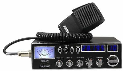 Galaxy DX-55HP 10 Meter Amateur Ham Mobile Radio DX55HP TUNED, ALIGNED, SCHOTTKY