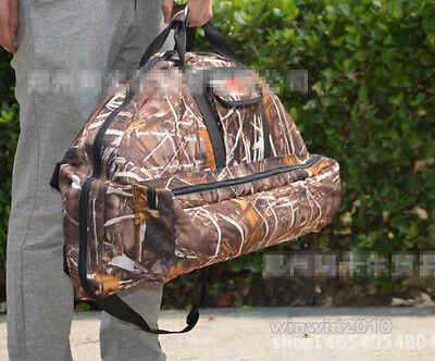 Archery Bow Backpack Bag Camouflage Hunting Compound Bow Crossbow Case Holder