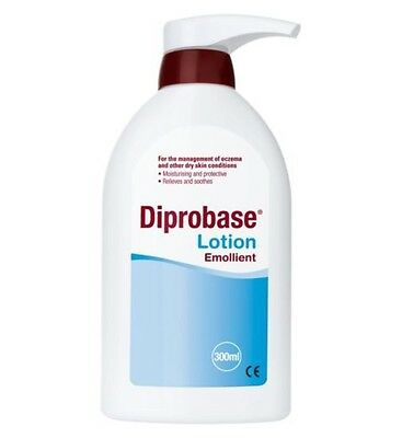 Diprobase 300ml Emollient Lotion  Eczema Psorasis Sooth Hydrate Protect Dry Skin