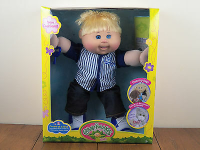Cabbage Patch Kids 14 Boy Plush Doll African American Black Hair
